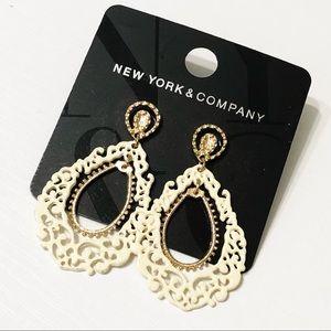 NY&Co • Filagree Hoop Earrings